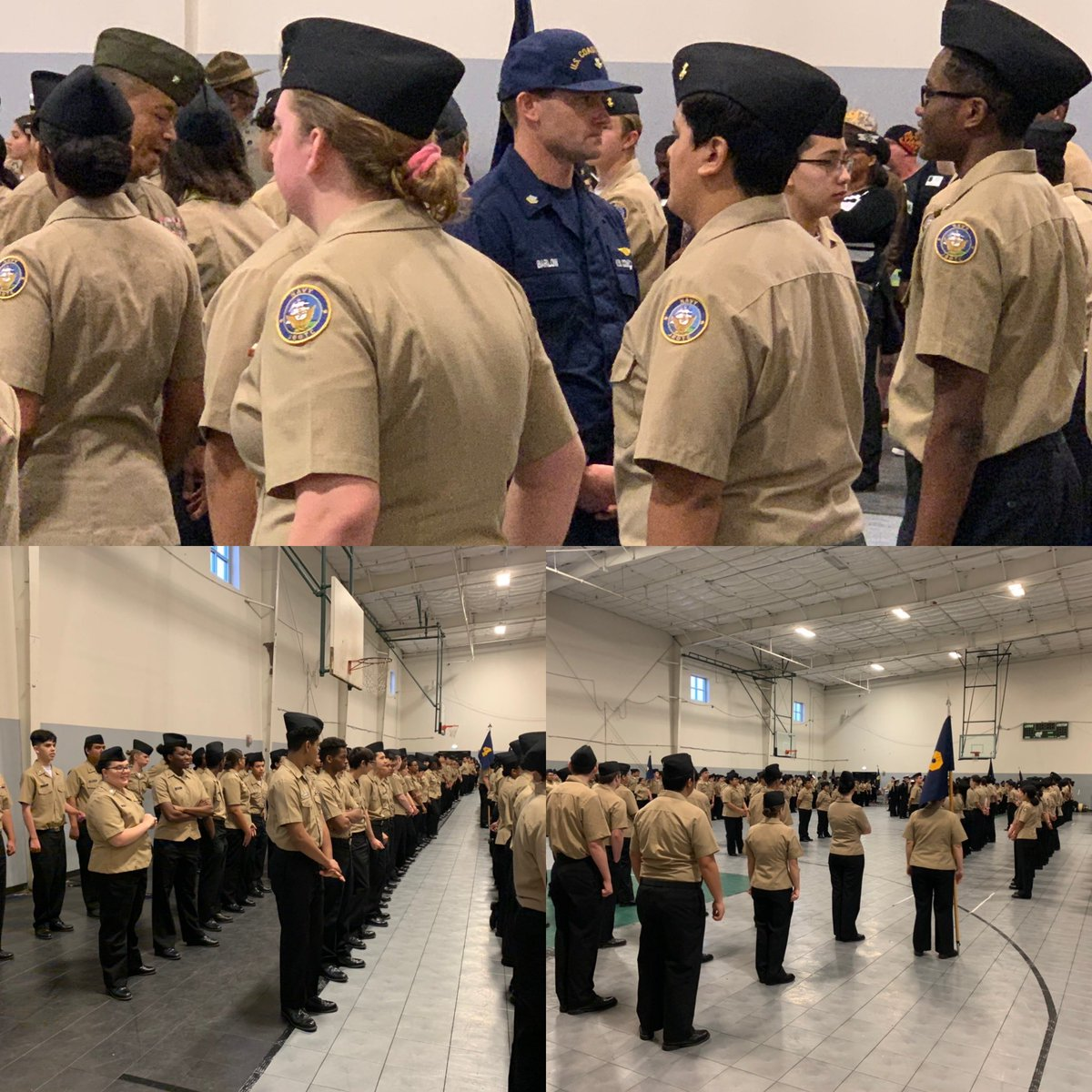 It's that time again! Annual military inspection for the SHS regiment! @SPRINGHIGHLIONS @SpringNJROTC #mbybob https://t.co/zB4CgX0Ei9