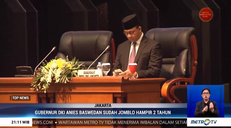 #TopNewsMetroTV Hampir 2 tahun sudah DKI Jakarta tidak memiliki Wakil Gubernur. Proses pemilihan yang berlaraut-larut memicu polemik yang berkaitan dengan adanya kekuatan tertentu yang sengaja menghambat terpilihnya pendamping Anies Baswedan.@Metro_TV http://metrotvnews.com/live