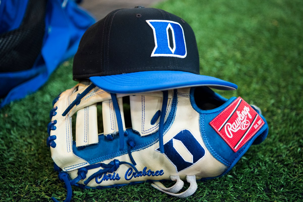 Scrimmage times for the weekend 👇  Friday - 4:00 p.m. Saturday - 1:30 p.m. Sunday - 1:00 p.m.  *Jack Coombs Field*  All scrimmages are open to the public, come check out some 🔵😈⚾️!  #BlueCollar | #GoDuke