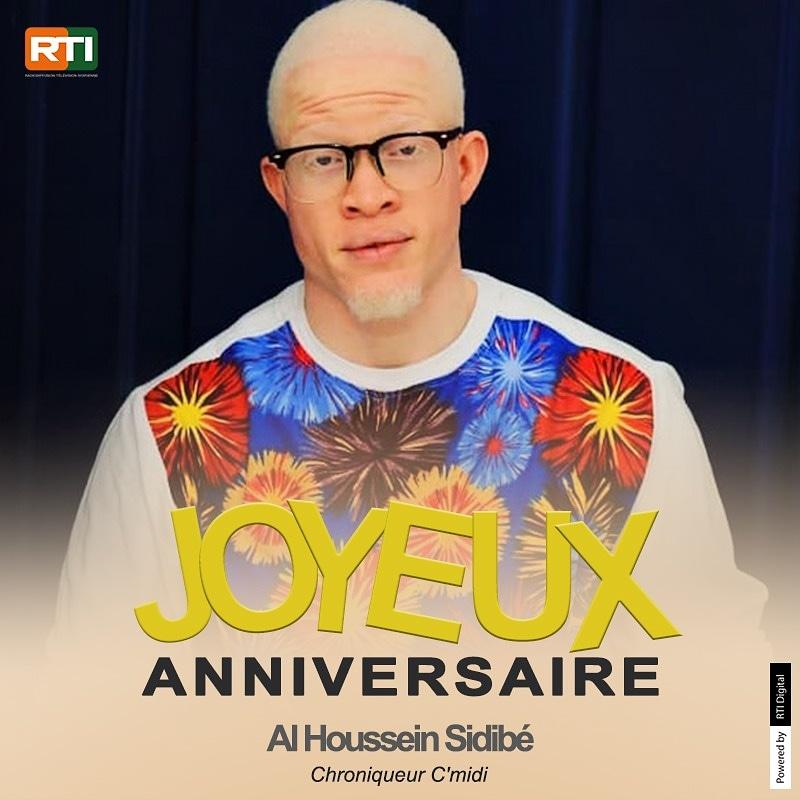"""1 an en plus pour Al Houssein ! Joyeux anniversaire """"M. le chimiste""""! 🎂🎉 #Cmidi #RTIofficiel"""