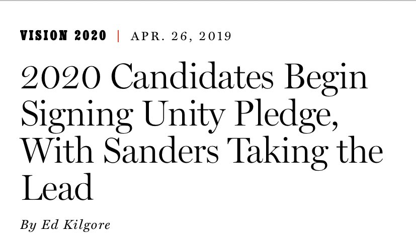 Bernie pledging to not go negative was never worth the paper it was printed on. twitter.com/berniesanders/…