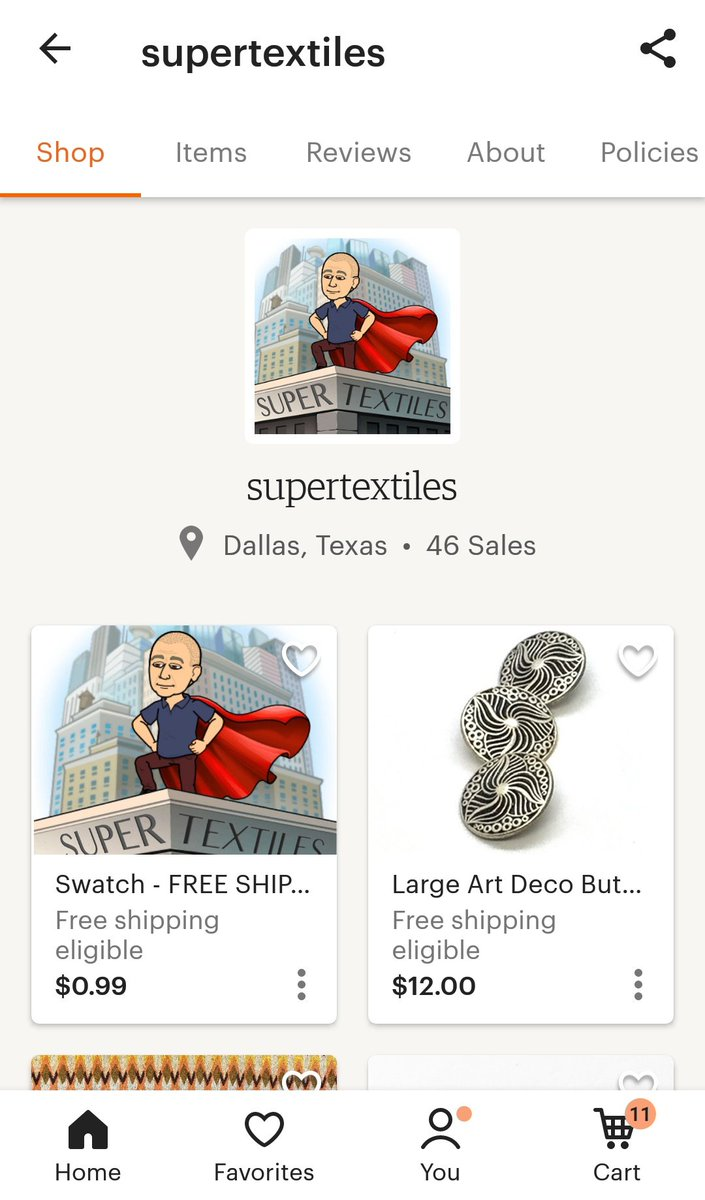 """PSA!!!!  One of the Dallas fabric shops destroyed by a tornado last year just opened an etsy shop!  This shop was known for its rooms upon rooms of thousands of buttons, and frequent shoppers knew the owner as """"The Button Guy."""" <br>http://pic.twitter.com/lgekDEswn8"""