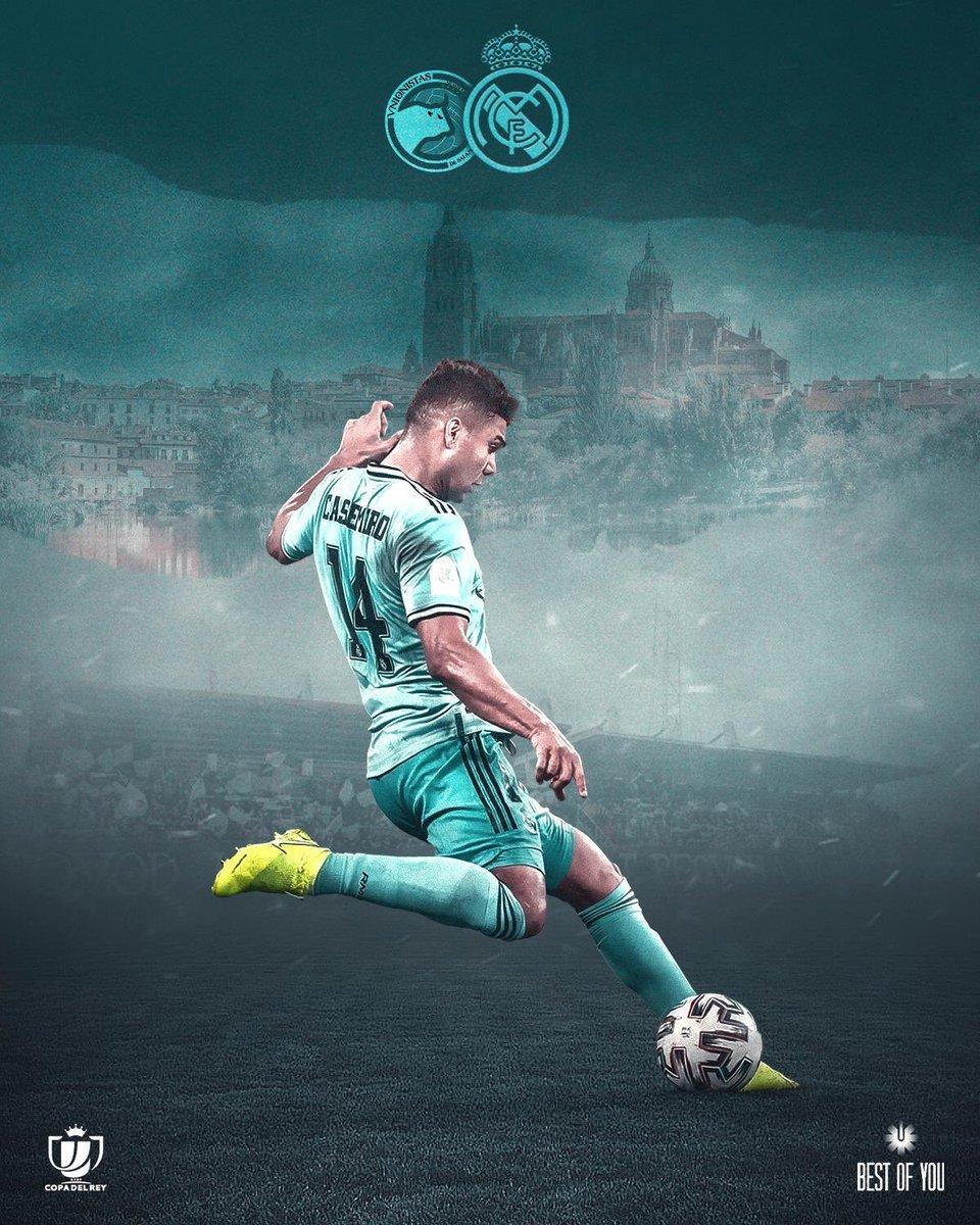 #HALAMADRID  #RealMadrid #RMCopa   @UnionistasCF 🆚 @realmadrid  📍 Las Pistas del Helmántico 🏆 Copa del Rey  🇧🇷 17:00 h 🇪🇸 21:00 h
