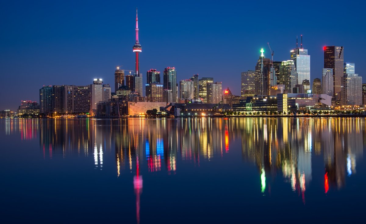 Toronto at Night Canada <br>http://pic.twitter.com/87n2mCBpiW