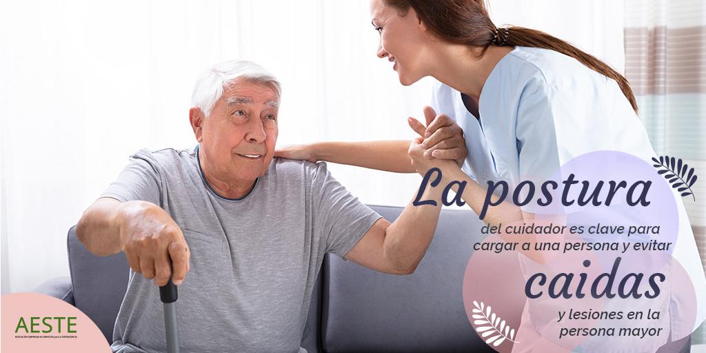 test Twitter Media - 📌En el cuidado de #PersonasMayores con movilidad limitada la postura del cuidador es clave para minimizar el riesgo de caídas y lesiones.  ✅Mantén la espalda siempre recta. ✅Piernas flexionadas. ✅Cuanto más cerca, menos esfuerzo. ✅Separa los pies para aumentar el equilibrio. https://t.co/pe6Rfk7A86