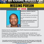 Image for the Tweet beginning: Can you help #LASD find