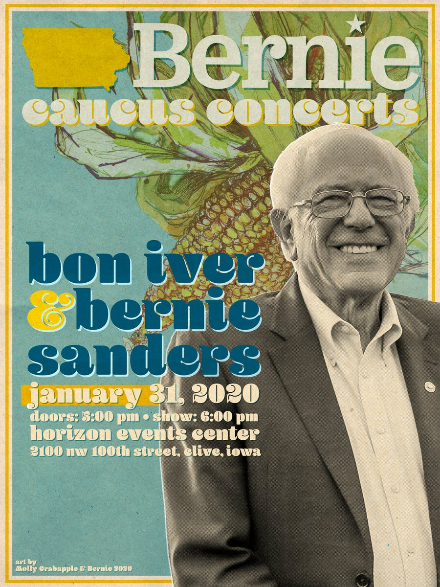 Let's do what we all should have done. See you there! #ILikeBernie