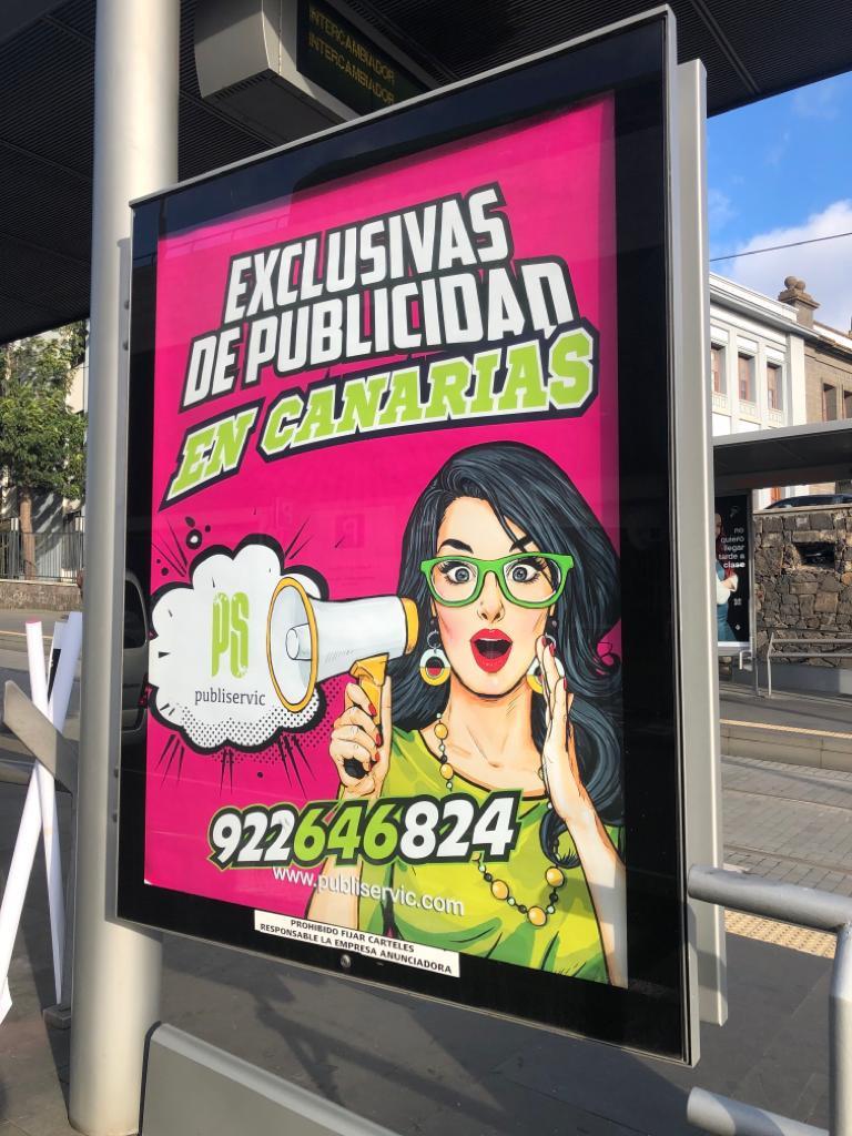 🦸♀️🦸♂️ Somos líderes en exclusivas publicitarias del transporte público en las Islas Canarias e impresión digital 🏅#publiservic ofrecemos un servicio de calidad, con un acceso directo a los principales soportes de publicidad exterior 🚈🚎🚌 🚏 https://t.co/pVJiiRmTi2
