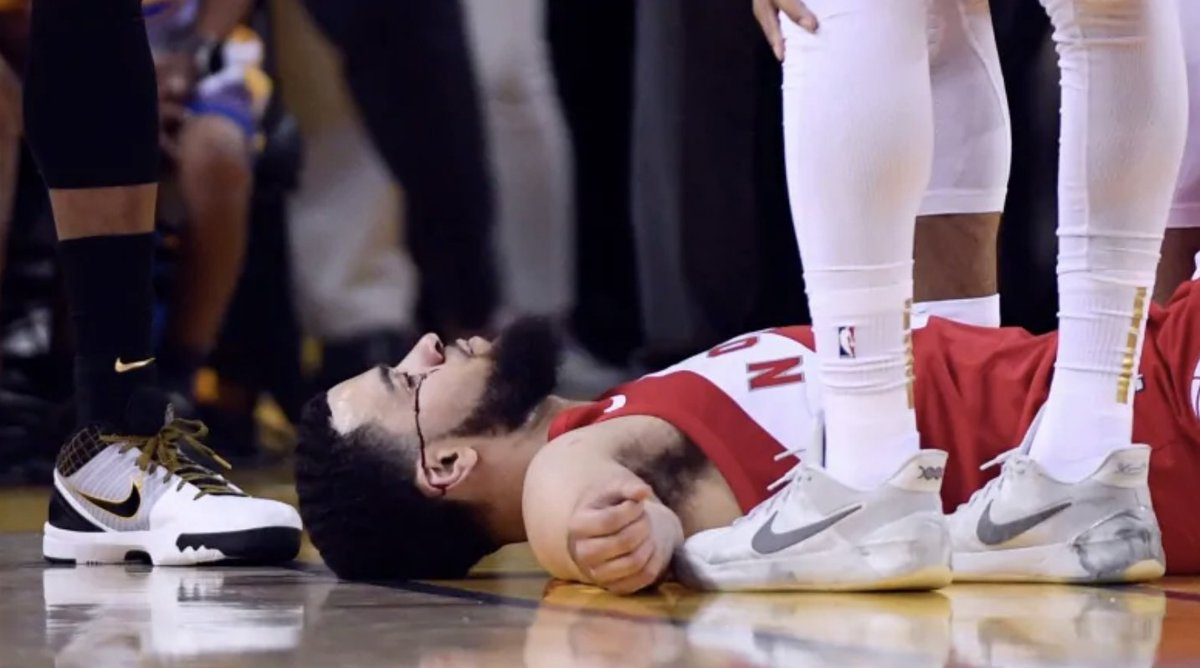 """""""Can the Raptors win another title?"""" Masai Ujiri: """"We're going to die trying."""" Fred VanVleet:"""