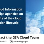 #WhatWeDoWednesday - GSA's Cloud Information Center helps agencies on all aspects of the cloud acquisition life cycle. Learn how GSA helps agencies transition to the #cloud: https://t.co/xP9WqRTzyI