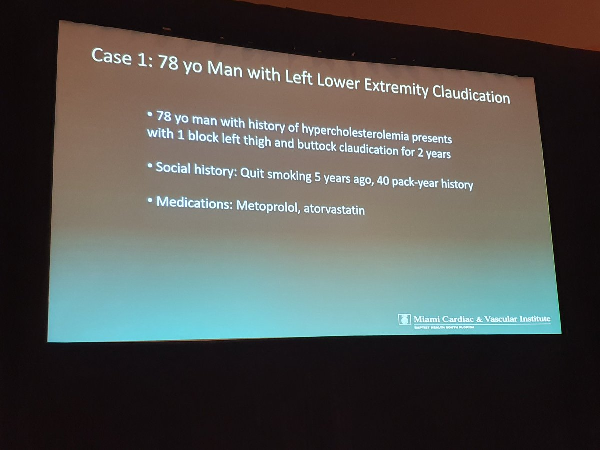 The first focused symposium of #ISET2020 Endovascular therapy: The essentials features case-based discussion and explanatory talks on PAD and venous disease. Rival Gandhi is now presenting an aorto-iliac disease case @ISETNewspic.twitter.com/W7pLLYHKZG – at Diplomat Ballroom 3