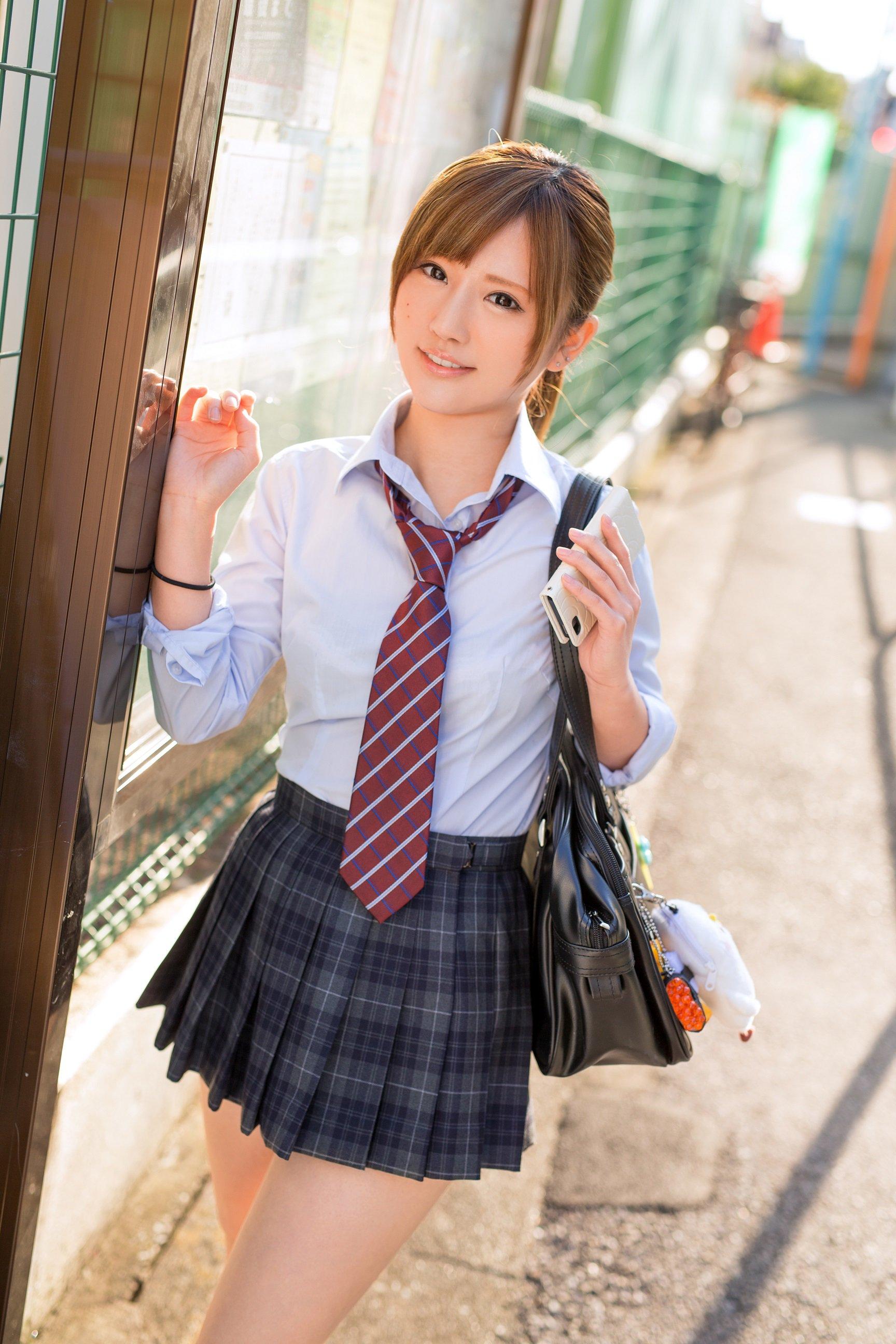 制服美少女》Cute Girl Pretty Girls 漂亮、可愛》青春就是無敵 #水手服