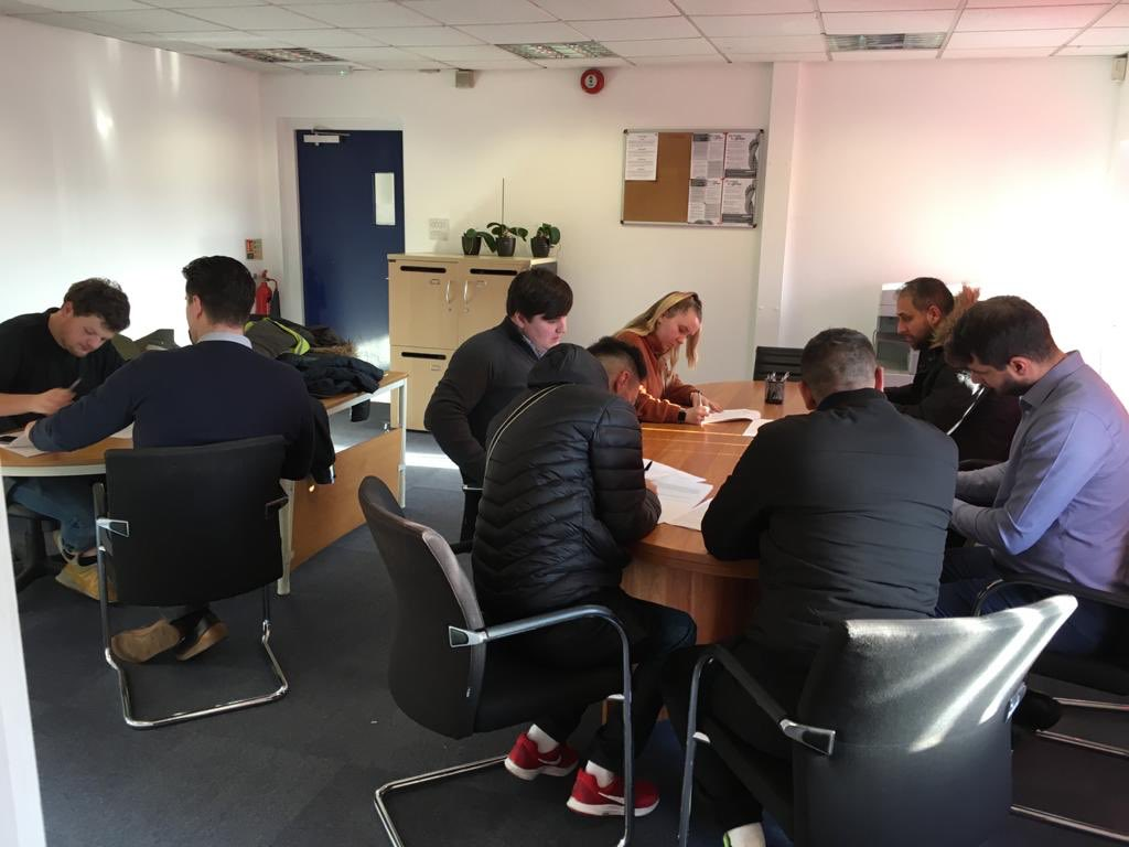 A busy start to the year.... Sittingbourne office full of candidates registering and getting booked out to work #Sittingbourne -#TemporaryWork #IndustrialJobs