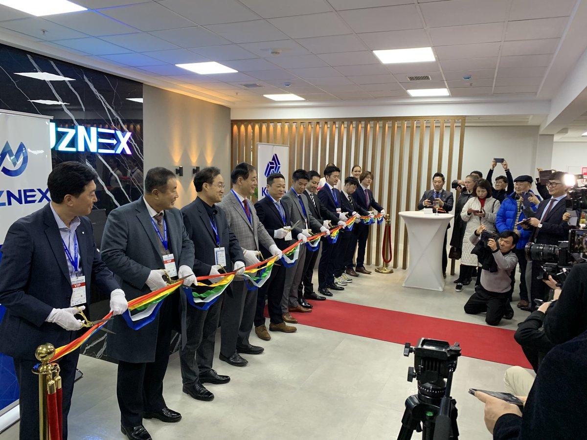 Opening UZNEX, the first licensed crypto exchange in Central Asia @Uzbekistan中央アジア発の仮想通貨取引所、UZNEX開所式#emurgo #Uzbekistan #crypto