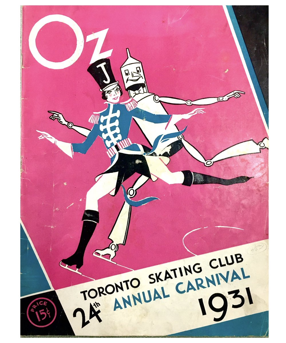 Programmes for the Toronto Skating Club Annual Carnival | From 1902 to 1956 these annual performances grew from member recitals into grand festivals featuring ballet, pantomime, Olympic champions, and international skating stars #TOhistory <br>http://pic.twitter.com/CP7RNRNjrN