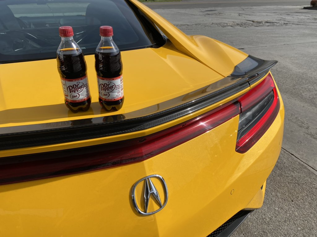 Diet Dr. Pepper: The official soda of @roadshow road trips. Right, @MMMotorsports?