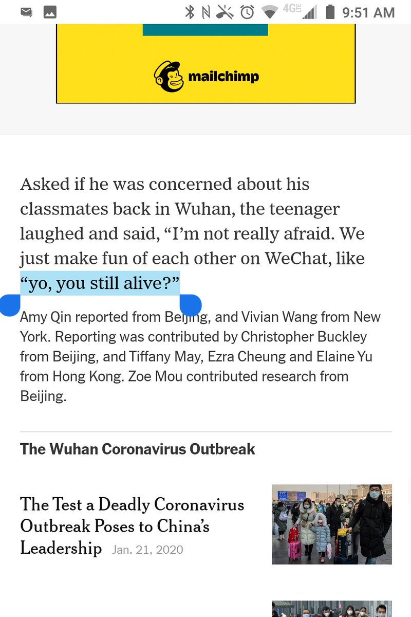 Typos Of The New York Times On Twitter This Quote Within A Quote Should Be In Single Quotes Not Double Quotes Amyyqin Vivianhyee