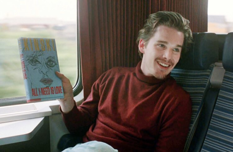 """Before Sunrise (1995) dir. Richard Linklater   """"If there's any kind of magic in this world…it must be in the attempt of understanding someone."""" <br>http://pic.twitter.com/glQz0gKxFX"""