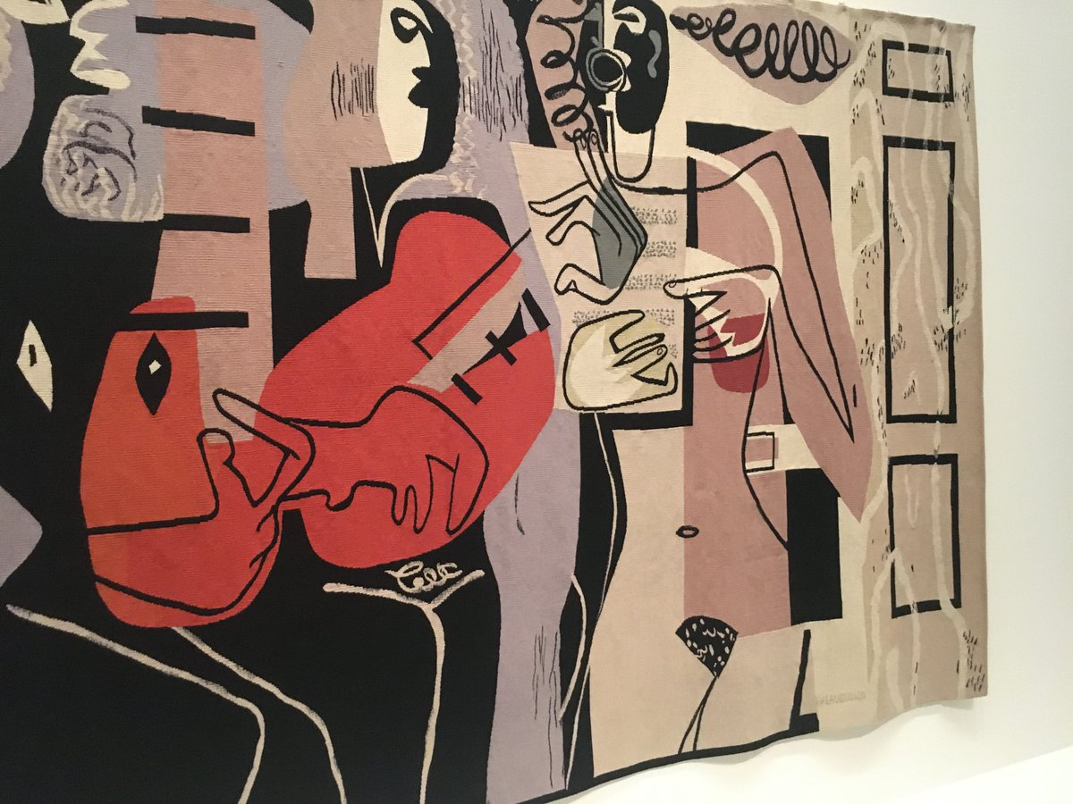"""In Paris this weekend?  Featuring works by Léger, Calder and Picasso, the stunning """"Charlotte Perriand: Inventing a New World"""" exhibition at the @FondationLV is not to be missed.   