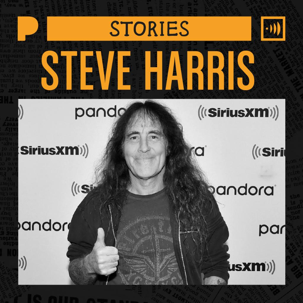 .@IronMaiden founder, bassist and songwriter Steve Harris, is branching out with his solo project British Lion. On his Pandora Story, celebrate his artistry and musical legacy with both bands. Listen now: pandora.app.link/WAy7yuw0p3