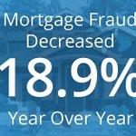 The latest CoreLogic Mortgage Fraud Brief shows that #fraud risk decreased 18.9% year-over-year. Learn more: https://t.co/2FzVcLZTNZ