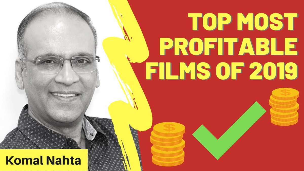 Which were the top 5 most profitable films of year 2019? Any guesses? Take a look right here... right now! 📽️👉   #SalmanKhan #AkshayKumar #HrithikRoshan #ShahidKapoor #VickyKaushal