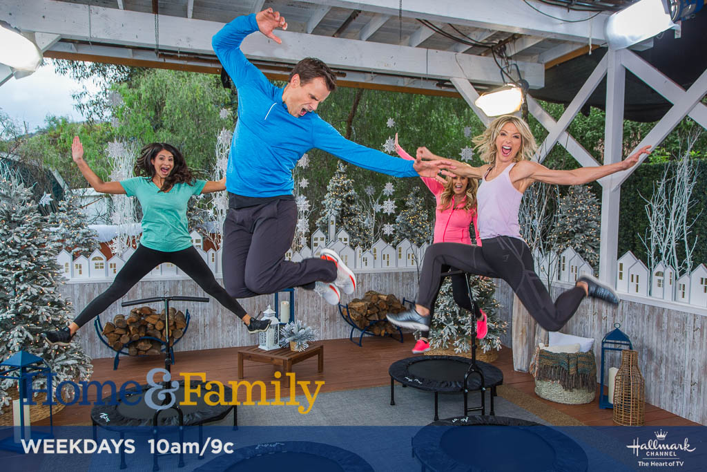 .@cameronmathison's Mini Trampoline Workout is so fun you won't want to stop! Steps: bit.ly/2TTT5Me