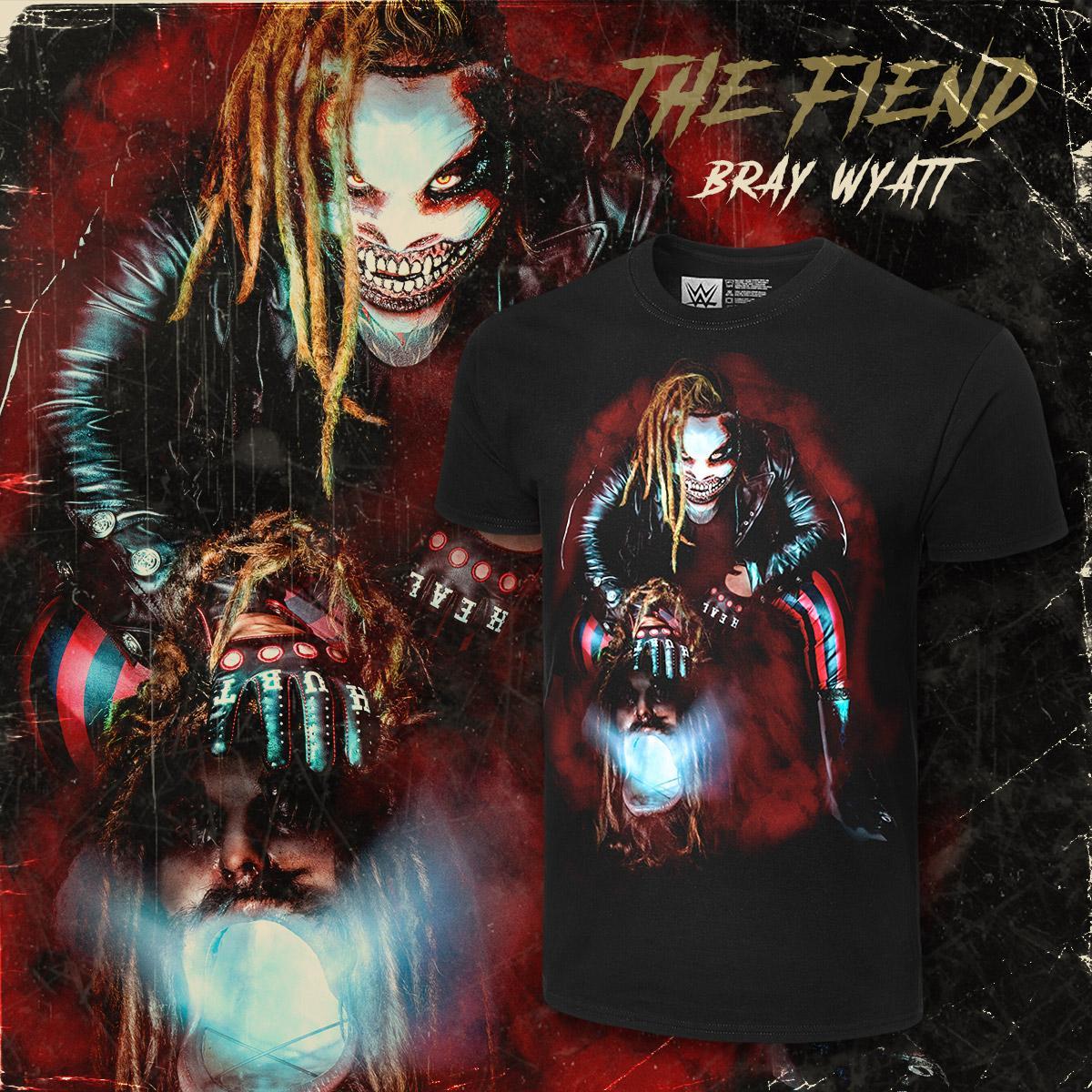#LetMeIn - #TheFiend #BrayWyatt photo tee available now at #WWEShop! #WWE @WWEBrayWyatt