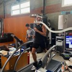 Another good push today!👊🏼 Vo2 max test ✅ we keep pushing!! #GAS10 #10NEGOAL