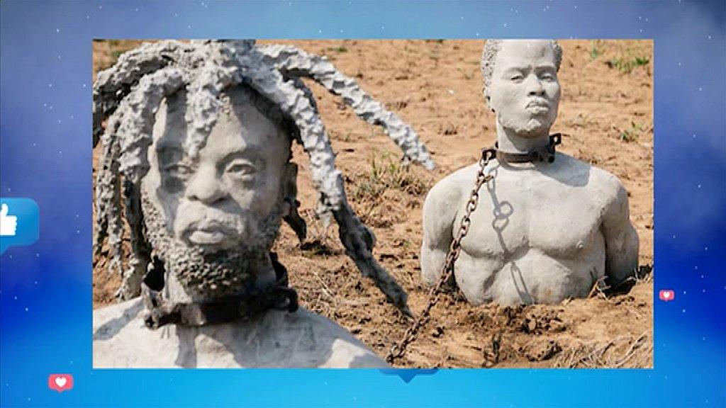 MMB du 21 janvier 2020: Lu Vu et Entendu: un sculpteur Ghanéen fait quelque chose de magique, il a conçu plus de 1300 têtes en béton représentant les ancêtres esclaves du Ghana.  👉http://www.rti.ci/replays_rti2.php?titre_emission=madame-monsieur-bonsoir&id_emission=26&id=5495&titre=mmb-du-21-janvier-2020-lu-vu-et-entendu-un-sculpteur-ghaneen-concoit-plus-de-1300-tetes-en-beton… #MMB #RTI2 #RTIofficiel