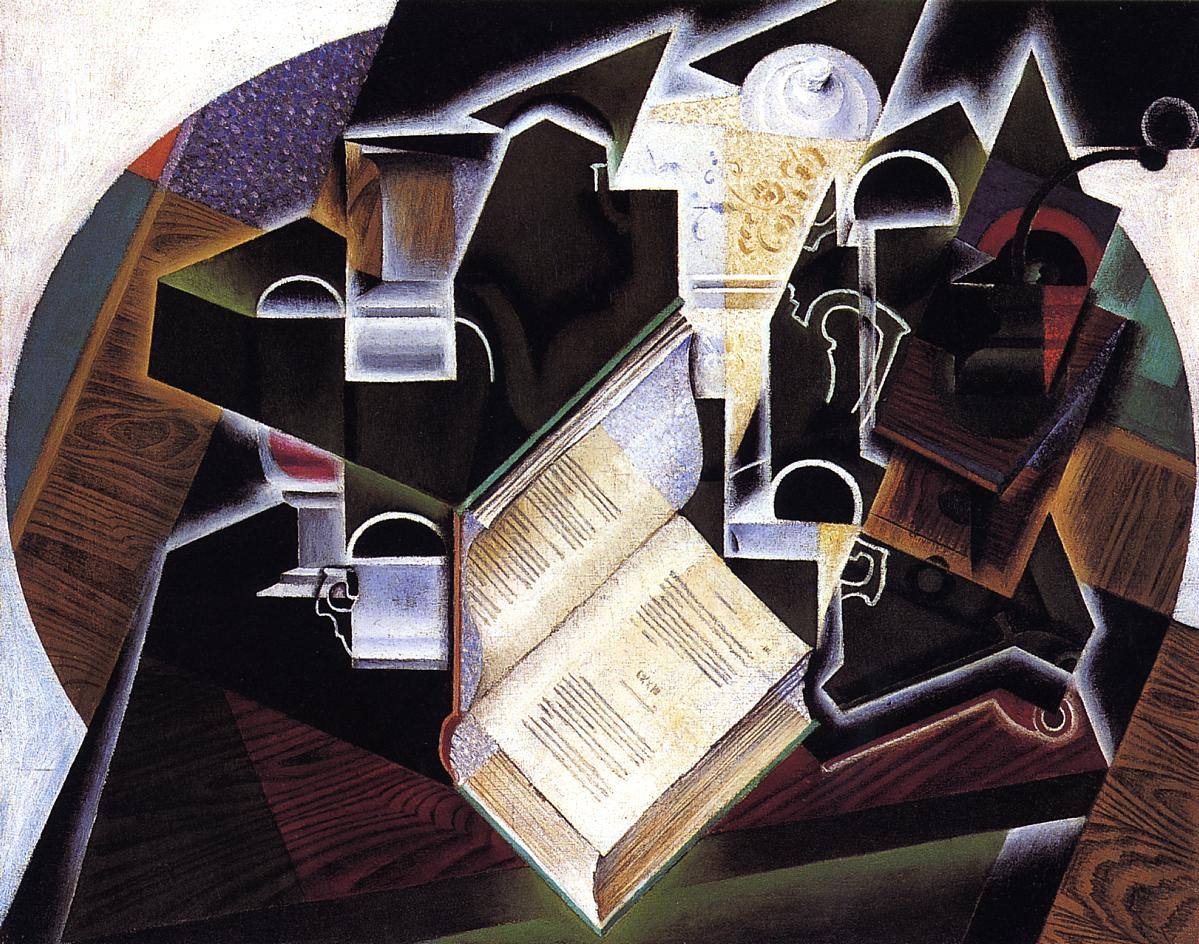 Book, Pipe and Glasses #juangris #syntheticcubism<br>http://pic.twitter.com/z5jy7XVpvP