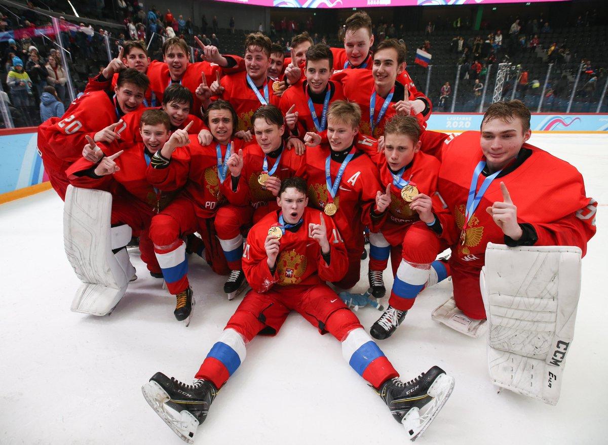 хоккей россия какое место заняли 2020
