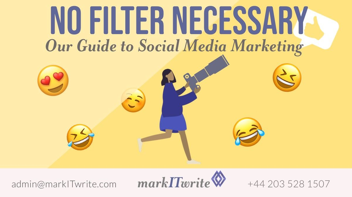 #NoFilter Necessary with Our Guide to Social Media Marketing #SocialMediaMarketing #Marketing https://buff.ly/2Ut321cpic.twitter.com/ebMTnSTy7a