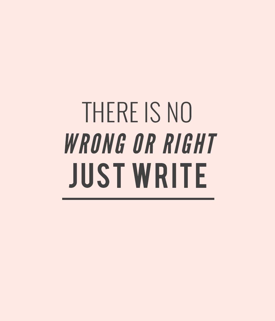 Just write. #TeachWrite