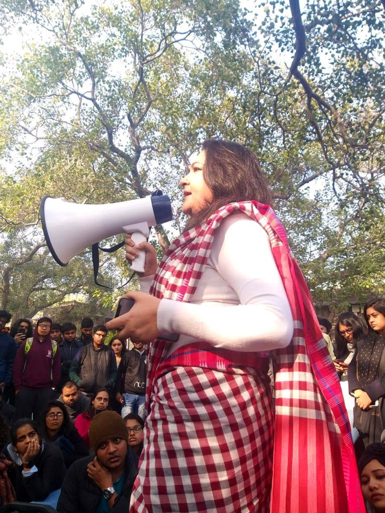Nothing more shameless than strangulating students' voices on the very campuses meant for them to flourish.To prevent a discussion on CAA Ambedkar Univ admin got police to lock d gates.Ucan lock the gates but can't imprison the minds of those who have risen to defend d republic