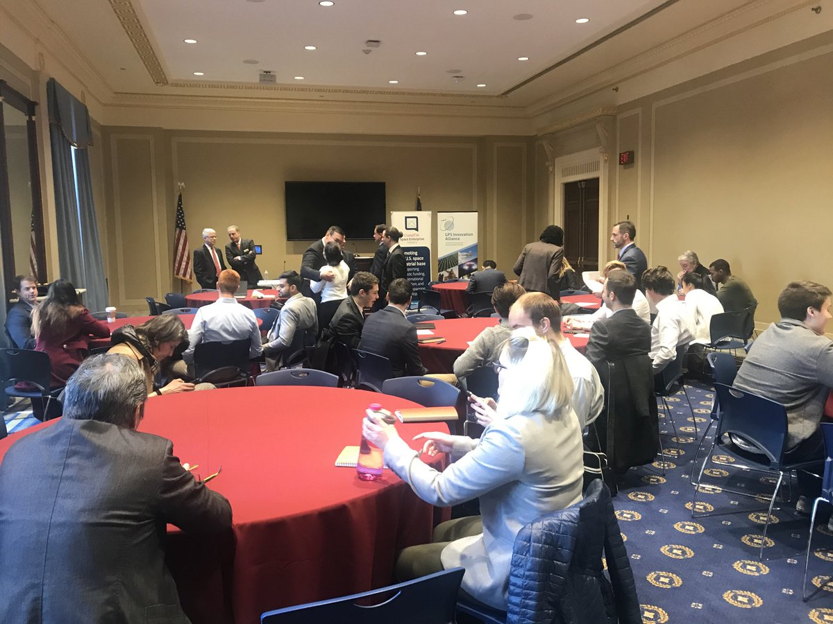 Great turnout for our panel discussion on the role of #satellites in #EmergingTech. <br>http://pic.twitter.com/Iw7EaJmNMc – à Education & the Workforce Committee Room