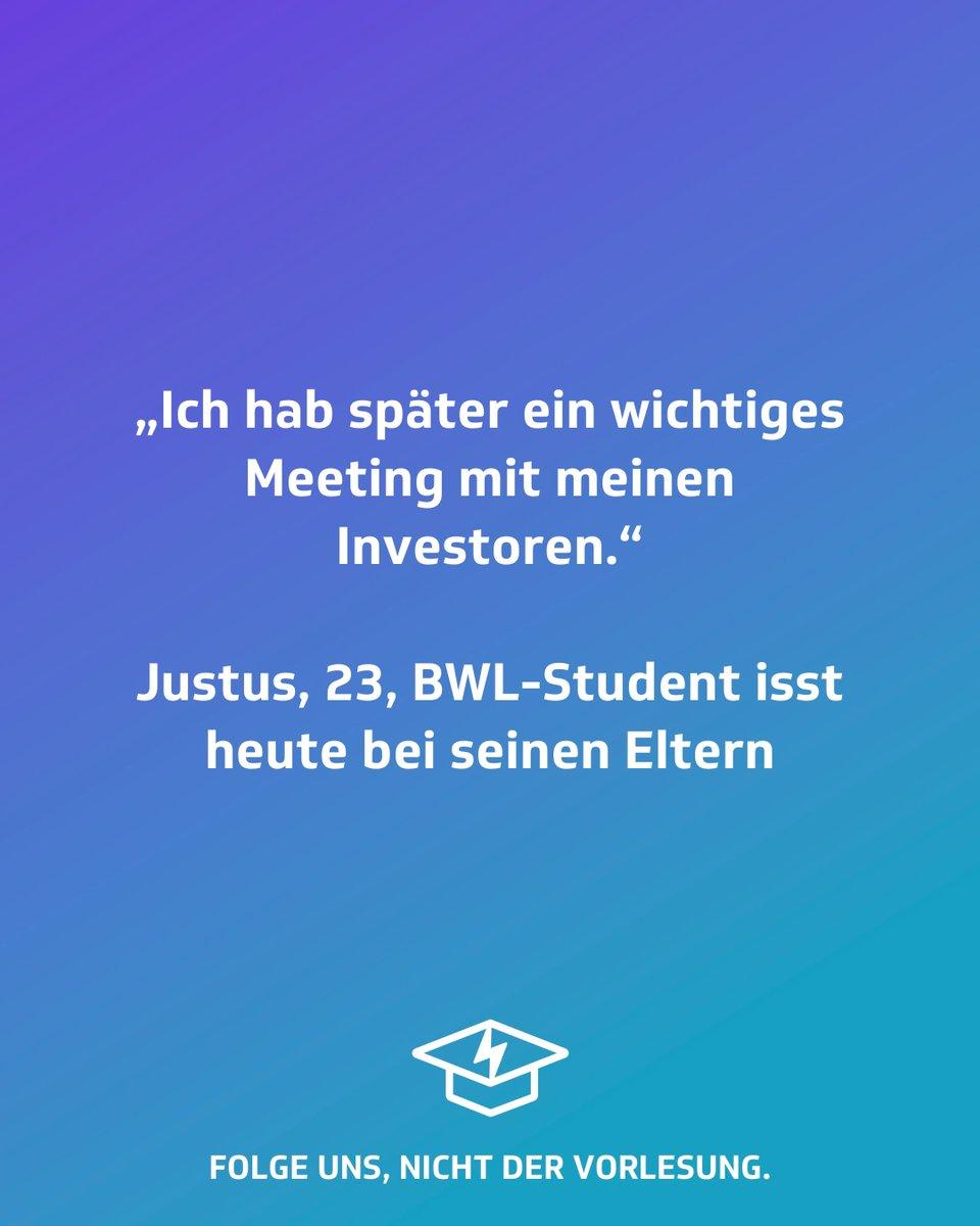 Richtiger #entrepreneur #studentenstoff #studentenleben #studentenprobleme #semesterferien #hausarbeit #lernen #jodel #jodeldeutschland #jodelapp #semesterstart #unistart #vorlesung #lustigesprüche #witzigesprüche  #lustig #lachen #witzig #lächeln #freude #lebensweisheitenpic.twitter.com/V6TTNxwBnm