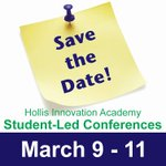 Image for the Tweet beginning: Save the date! Spring Student-Led