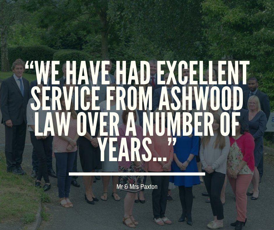 """""""We have had excellent service from Ashwood Law over a number of years & particularly value Robert's advice. He is always well prepared for our visits, sensitive to our needs & thoroughly professional.""""   You can read the rest of our testimonials here: https://buff.ly/2NGbsjYpic.twitter.com/sj5Bt5GRgR"""