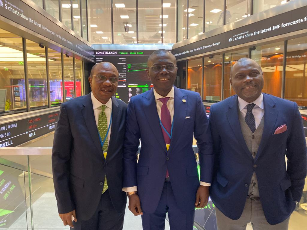 Gov. Sanwo-Olu  visits London Stock Exchange & attends Plenary Panel Discussion at the UK-Africa Investment Summit in London, on Tuesday, January 21, 2020 @jidesanwoolu #LASG #ForAGreaterLagos