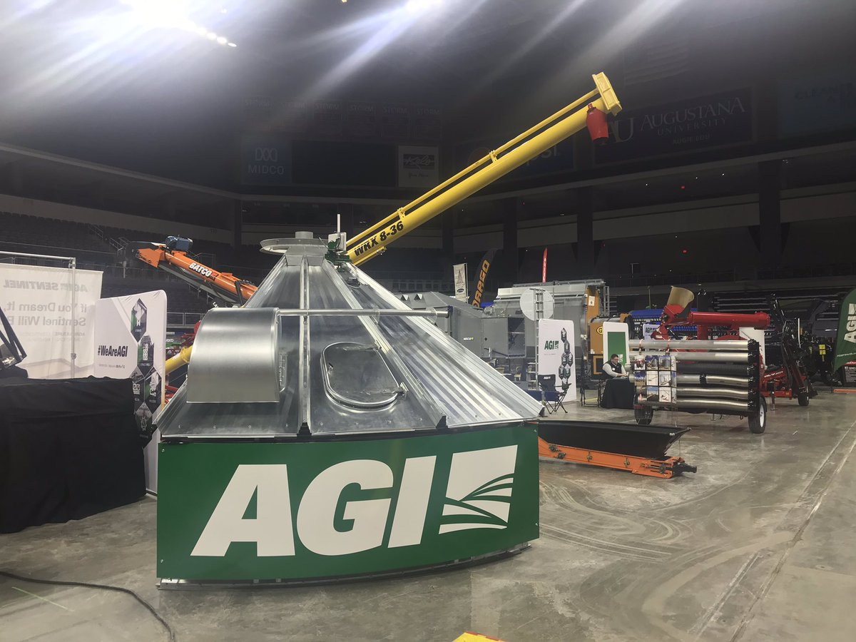 Sioux Falls Farmers Show is where it's at. Come check us out at #AGI booth 2220.