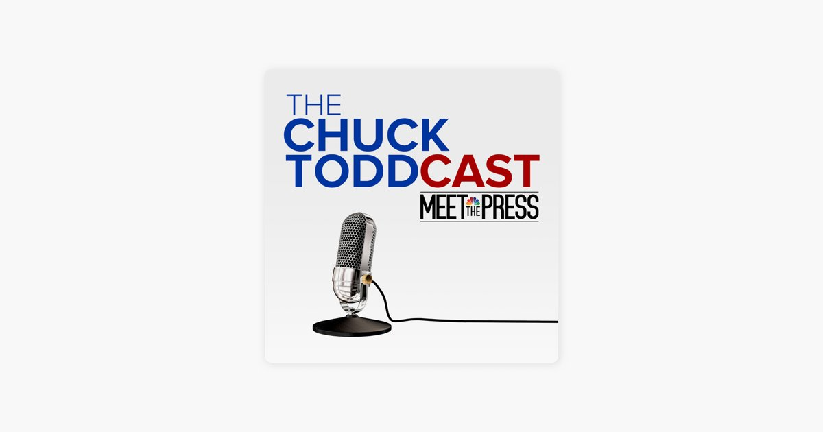 """Listen to the latest episode of the Chuck ToddCast: Iowa Democratic strategist Jeff Link joins Chuck to talk about the state of the Iowa race. Plus Washington Post reporters @PhilipRucker and @CarolLeonnig talk about their new book """"A Very Stable Genius."""" https://nbcnews.to/2GepWDB"""