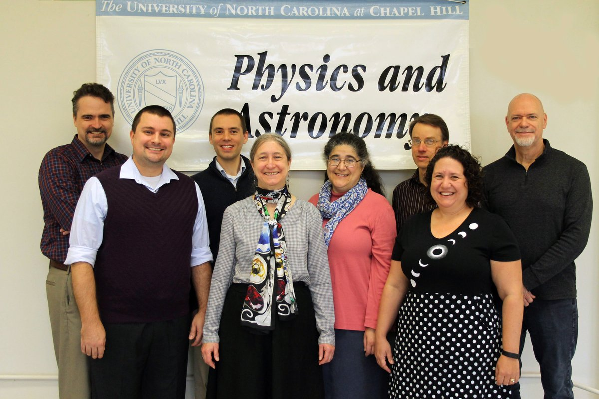 .@UNCPhysics wins Award for Improving Undergraduate Education from the American Physical Society for its effort to restructure its introductory courses. https://t.co/u4gWM2GShn https://t.co/Co71hkMKDR