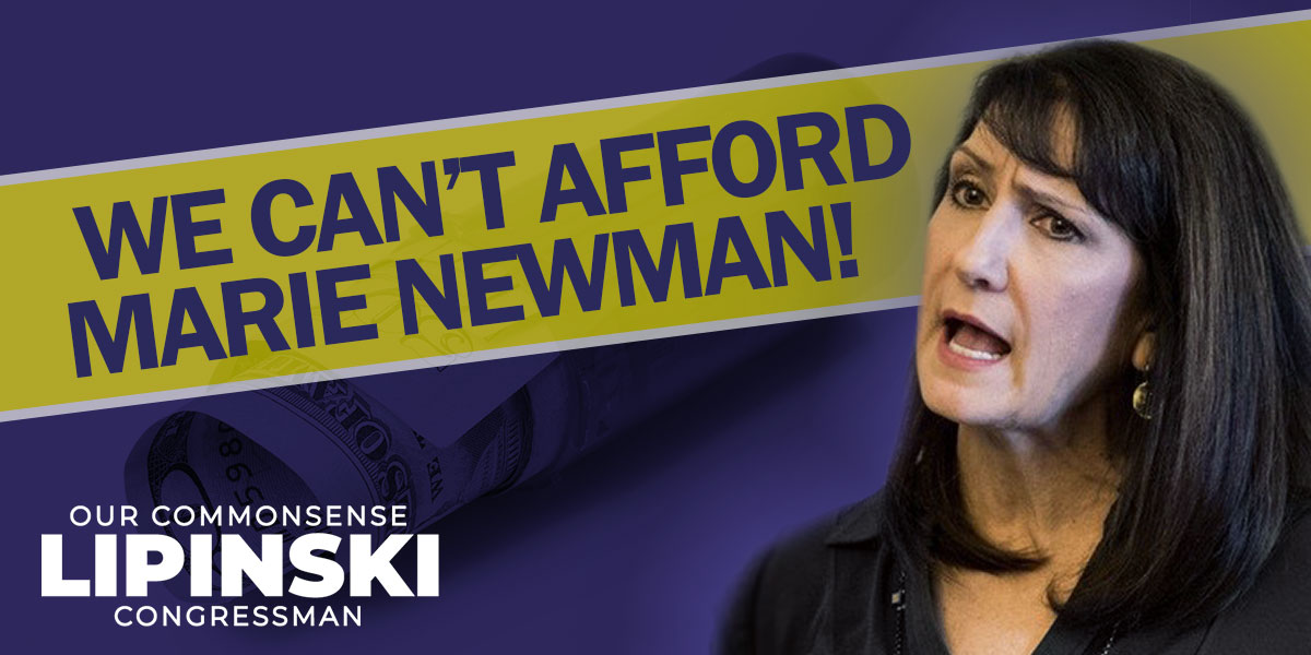 Marie Newman's healthcare scheme would double our federal taxes, abolish employer-provided insurance, and jeopardize access to the doctors of our choice. Sorry, we cannot afford Marie Newman! #ThePriceIsWrong #IL03 <br>http://pic.twitter.com/8wDydMbfKV