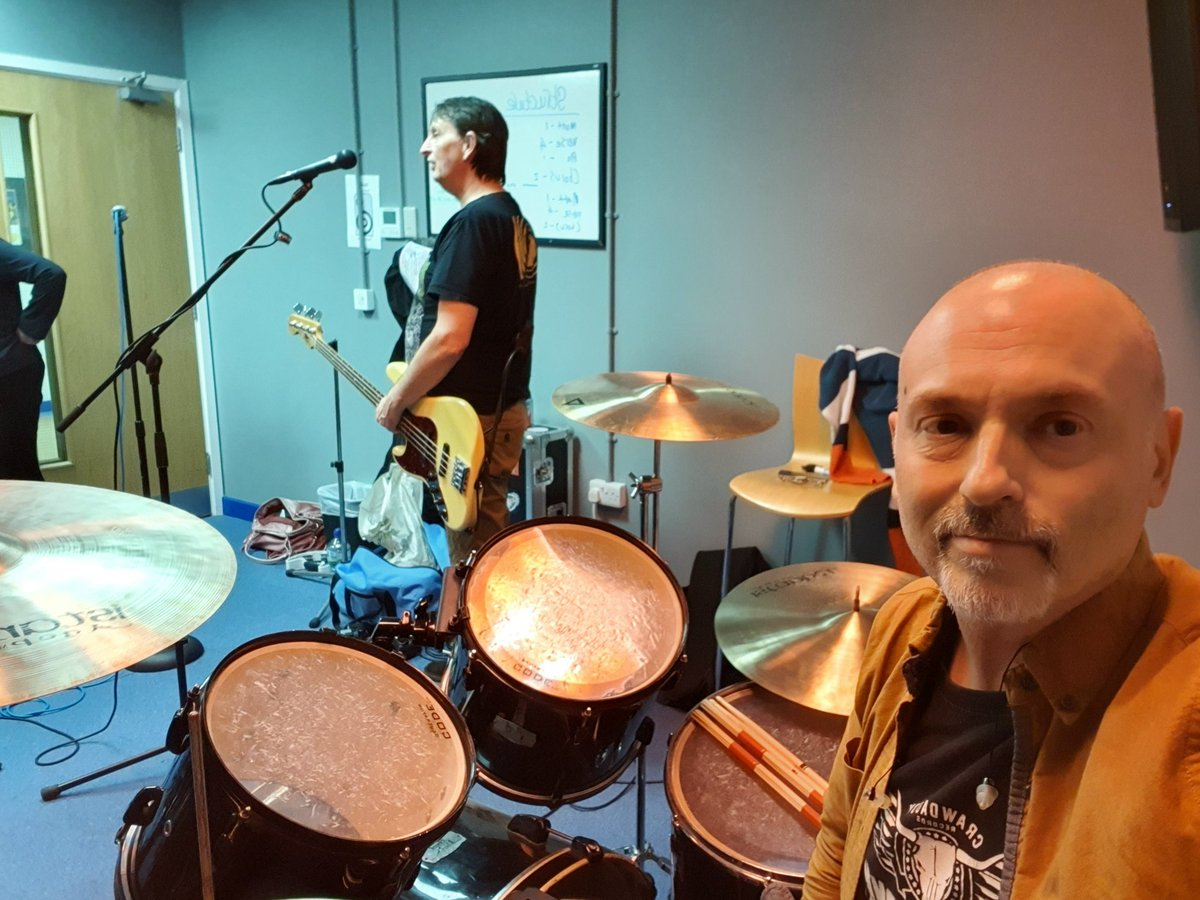 Good to be back in the rehearsal room with my band Rubiks Kube. Two new tracks nailed tonight. #80smusic #wham #cultureclub #partyband #eighties #80s #dorsetmusic pic.twitter.com/l4C2IDzOI0