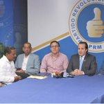 Image for the Tweet beginning: Nuestro presidente del partido, @JosePaliza,