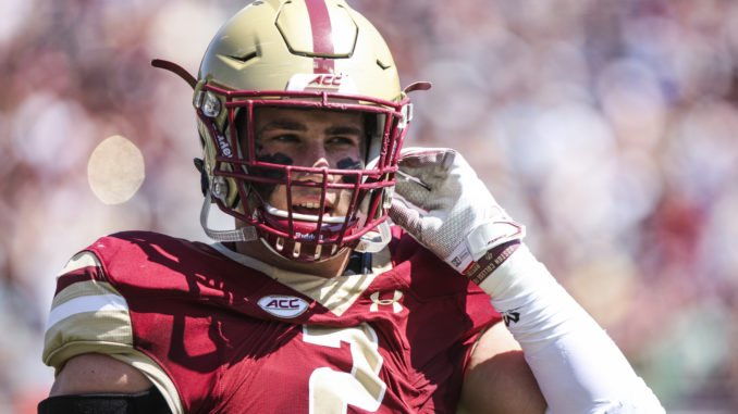 Blessed To Be Re-Offered By Boston College 🦅 #DecideToFly