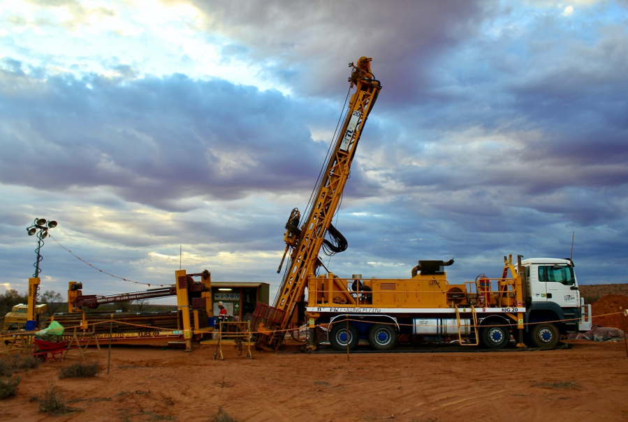 Drilling has commenced at our Maslins #iron oxide #copper #gold (#IOCG) Project: https://bit.ly/37jlS0BThree holes are planned with a target depth of 1000m each, with the anomaly interpreted to be at a depth of ~600m; each hole will take approx four weeks to complete. $IVR