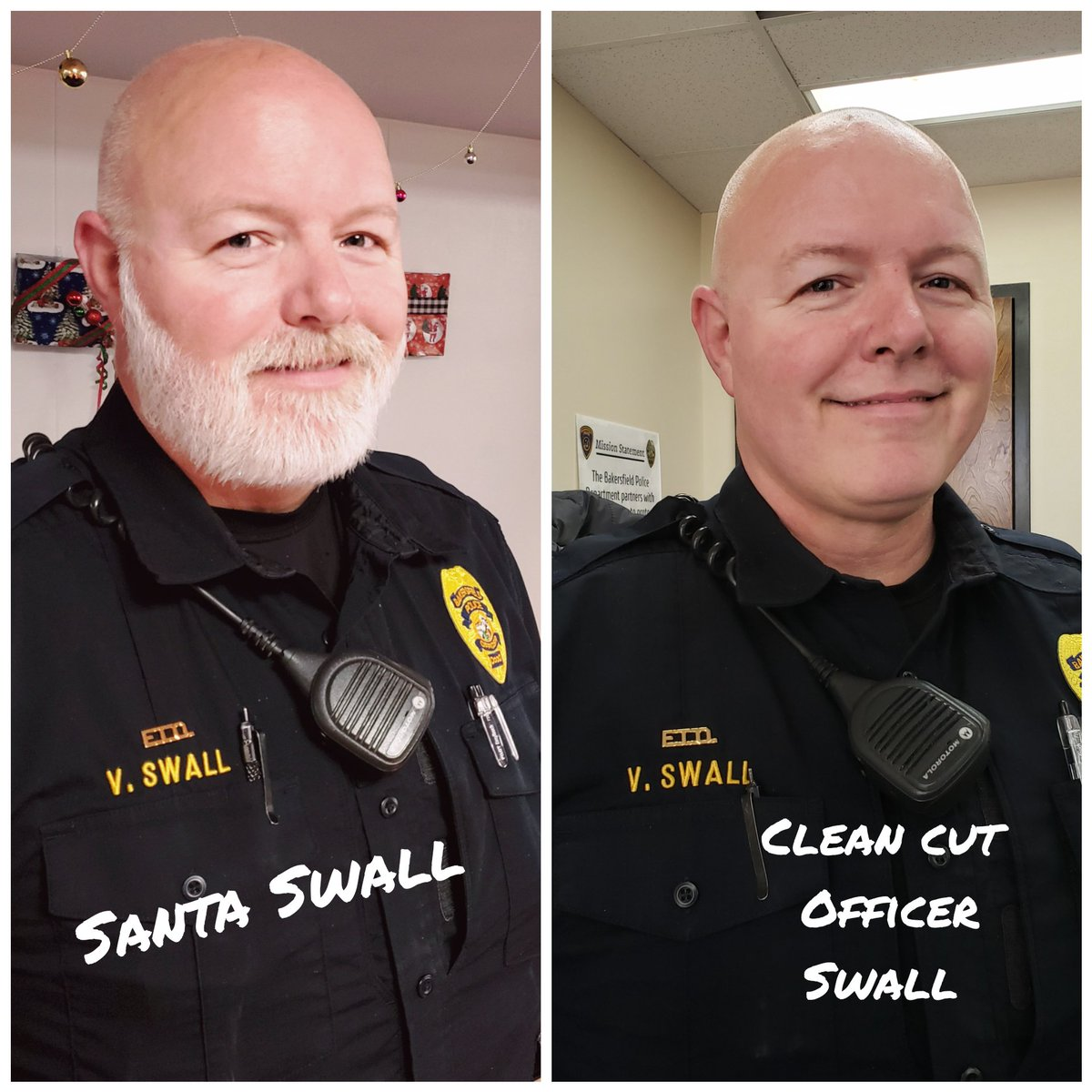 """Last month we held our #FuzzforFunds #fundraiser, which closed with $4K raised for the Alliance Against Family Violence & Sexual Assault, & the family of Deputy Harker. Officer Swall won #BestBeard. Good try to our """"Worst Beard"""", Officer Celedon  Thank you to all who donated! pic.twitter.com/7JdwltR5sW"""
