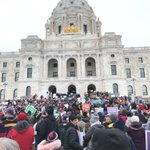 Image for the Tweet beginning: March for life today in